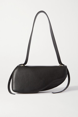 Ratio et Motus Holster Leather Shoulder Bag - Black
