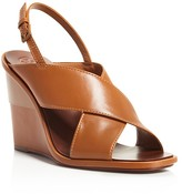 Tory Burch Gabrielle Slingback Wedge Sandals