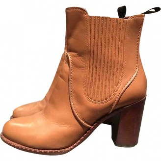 Marc by Marc Jacobs \N Camel Leather Boots
