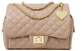 Marc B Luxury Feel Classic Quilted Handbag