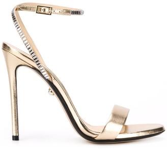 Alevì Metallic 120mm Open Toe Sandals