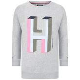 Tommy Hilfiger Tommy HilfigerGirls Grey H Sweater