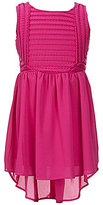 Marciano Big Girls 7-16 Mesh-Panel High-Low Skater Dress