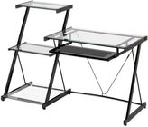 Bed Bath & Beyond Z-Line Designs Nero Desk and Bookcase