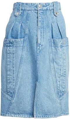 Isabel Marant Kalosia Denim Pencil Skirt