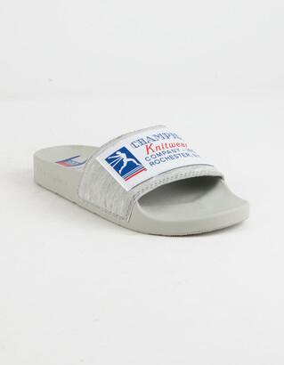 Champion IPO 100 Oxford Gray Boys Slide Sandals