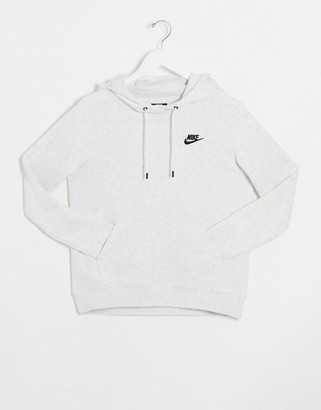 Nike Essentials Light Gray Hoodie