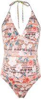 Topshop MATERNITY Aztec Floral 1 Piece Swimsuit