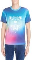 Kenzo Men's Rainbow Tiger Print T-Shirt