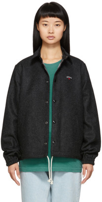 Noah NYC Black Wool Short Coach Jacket