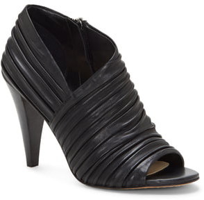 Vince Camuto Anara Ruched Peep Toe Bootie