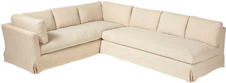 OKA Pietro Corner Sofa - Natural