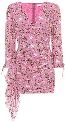 Rhode Resort Piper floral cotton minidress