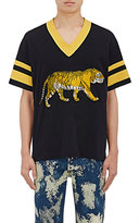 Gucci Men's Embellished Cotton Athletic Jersey