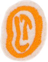 Olympia Le-Tan logo beaded patch