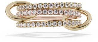 Spinelli Kilcollin 18kt gold Aurora diamond ring