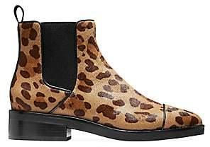 Cole Haan Women's Mara Grand Leopard-Print Calf Hair Leather Chelsea Boots