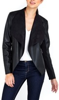 Wallis Women's Faux Leather Waterfall Jacket