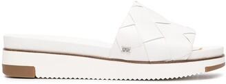 Sam Edelman Woven-Strap Flat Sandals