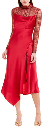Jonathan Simkhai Layered Midi Dress