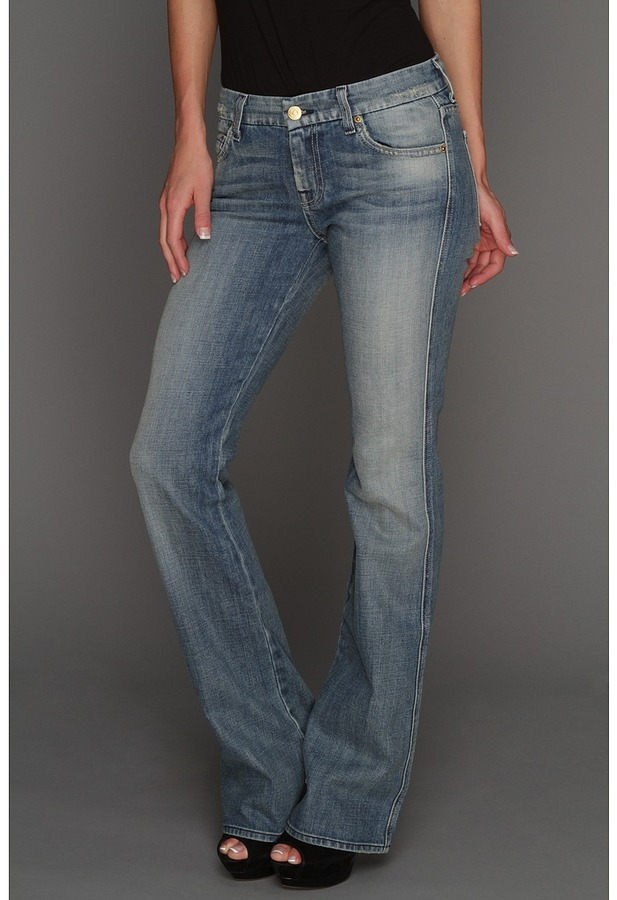 7 For All Mankind A Pocket in Pure Light Blue (Pure Light Blue) - Apparel