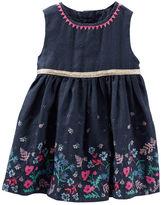 Osh Kosh 2-Piece Floral Print Dress