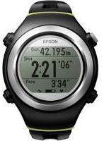 Epson Unisex Runsense SF310G GPS Bluetooth Smart Alarm Chronograph Watch E11E203213