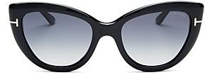 Tom Ford Women's Anya Polarized Cat Eye Sunglasses, 55mm
