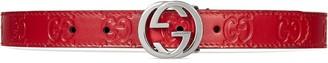 Gucci Kids Children's Gucci Signature belt