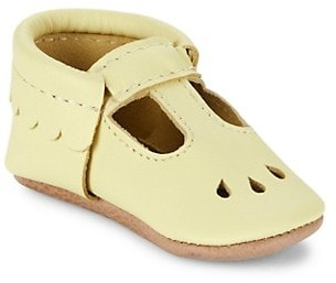 Freshly Picked Baby Girl's Mary Jane Mini Sole Leather Shoes