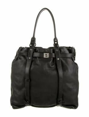 Lanvin Leather Kentucky Bag Black