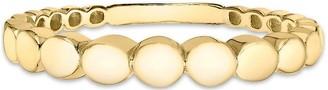 Love Gold 9ct Gold Graduated Circle Ring