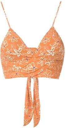 Clube Bossa Havel printed bikini top