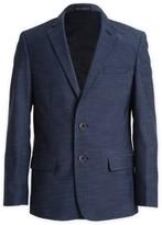 Calvin Klein Plain Weave Suit Separate Jacket (Big Boys)
