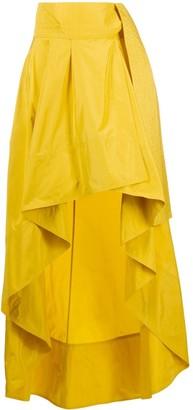 Pinko Flared Tie-Waist Skirt