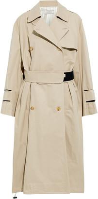 Nina Ricci Cotton-gabardine Trench Coat