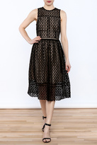 J.o.a. Crochet Lace Dress