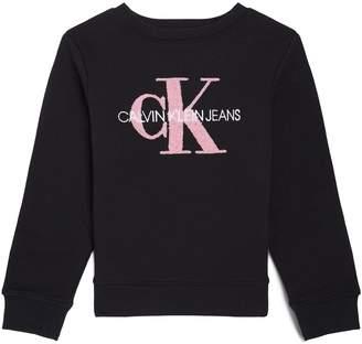 Calvin Klein Cotton Monogram Sweatshirt