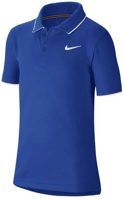 Nike Court Boys Dri-FIT Team Polo