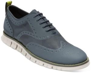 Cole Haan Men's ZeroGrand No Stitch Wingtip Oxfords Men's Shoes
