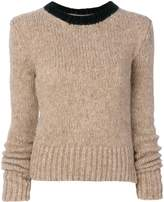 Marni collar detail sweater