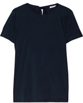 Helmut Lang Open-Back Cotton And Cashmere-Blend Jersey T-Shirt