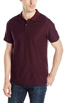 Perry Ellis Men's Two Button Stripe Polo