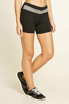 Forever 21 FOREVER 21+ Active Paneled Shorts