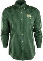 Antigua Men's Long-Sleeve Boston Celtics Button-Down Shirt