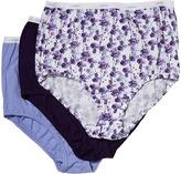 Jockey Plus Size Classics Full Cut Brief 3-Pack Women's Underwear
