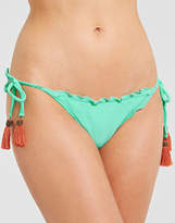 Sofia by Vix Solid Fresh Mint Ripple Tie Brief