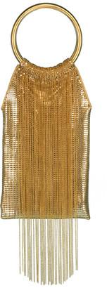 Whiting & Davis Gold Rush Fringe Bag