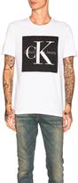 Calvin Klein Reissue Box Logo T Shirt