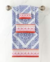 John Robshaw Mitta Periwinkle Towels